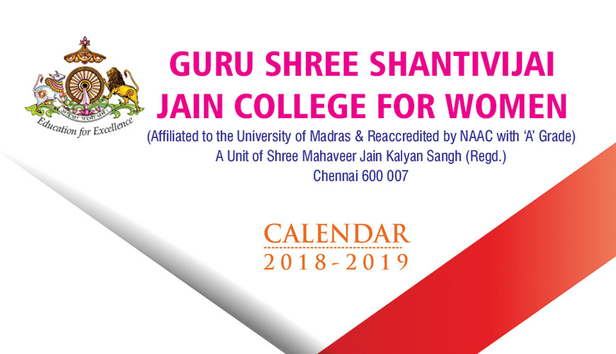 GURU SHREE SHANTIVIJAI JAIN COLLEGE FOR WOMEN